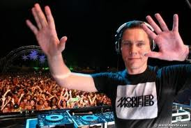 Tiesto on stage